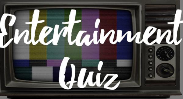Multiple Choice Entertainment Quiz
