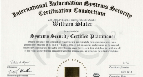 SSCP Systems Security Certified Practitioner Quiz