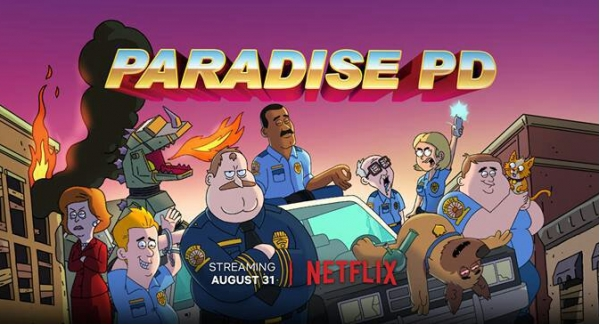 How well you know of Netflix series Paradise PD?