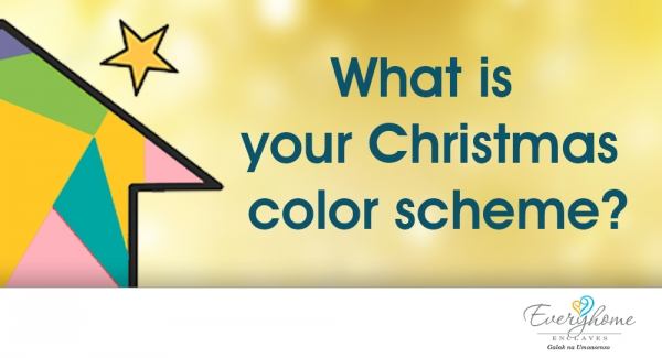What's your Christmas color scheme?